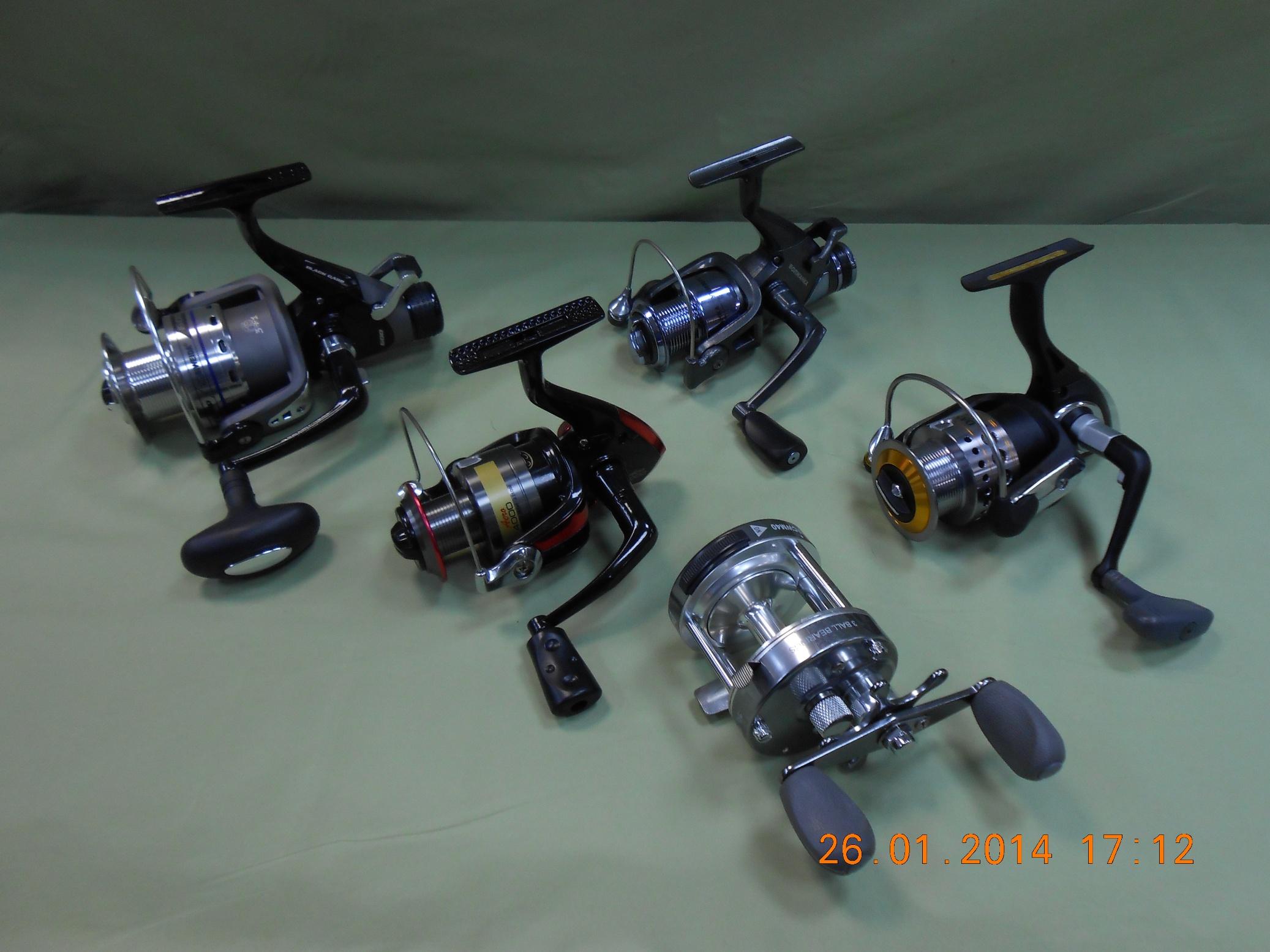 Катушки для рыбалки