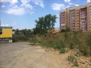 Строительство сквера август 2016 - 4