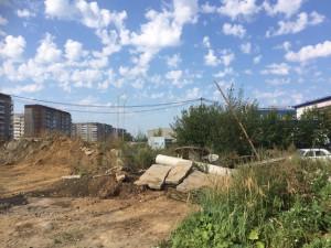 Строительство сквера август 2016 - 5