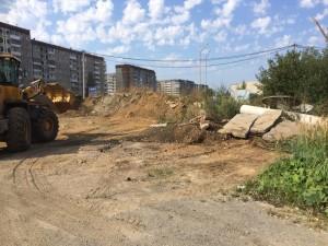 Строительство сквера август 2016 - 6