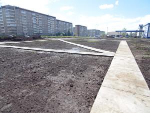 Строительство сквера июнь 2017 - 3