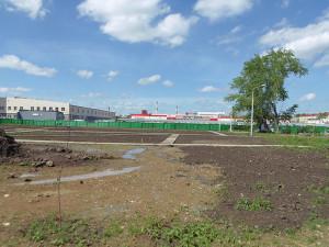 Строительство сквера июнь 2017 - 6