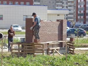 Строительство сквера июнь 2017 - 9