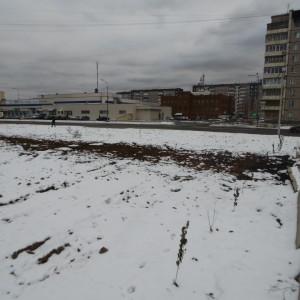 Строительство сквера октябрь 2016 - 5